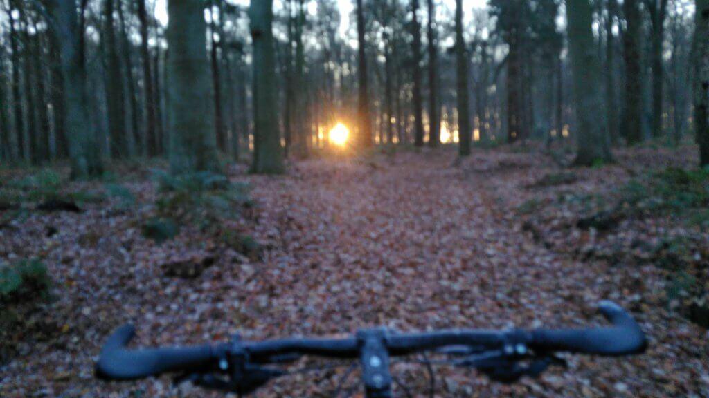 mountainbike route in Friesland